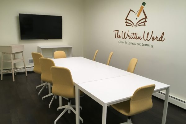 Therapist Teacher Training Room | The Written Word Center for Dyslexia and Learning
