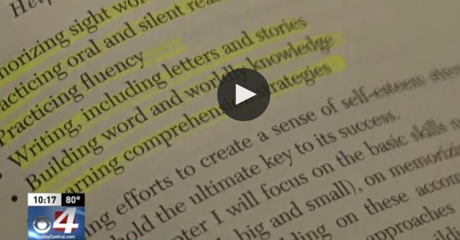 CBS 4 News Special Report: Overcoming dyslexia