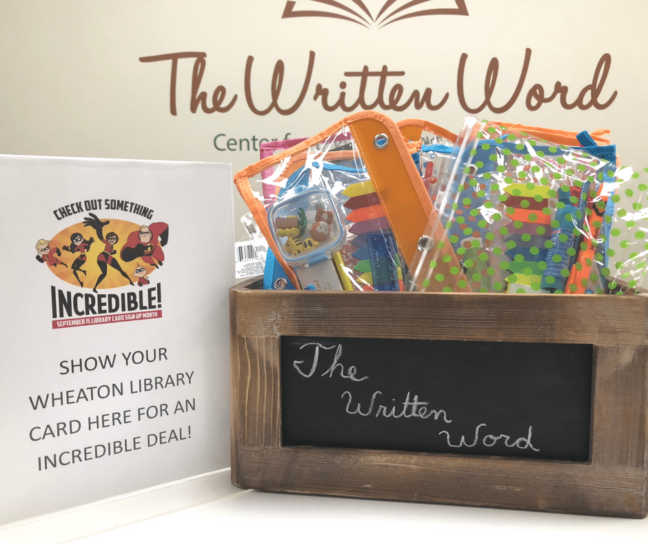 Wheaton Library Card | The Written Word