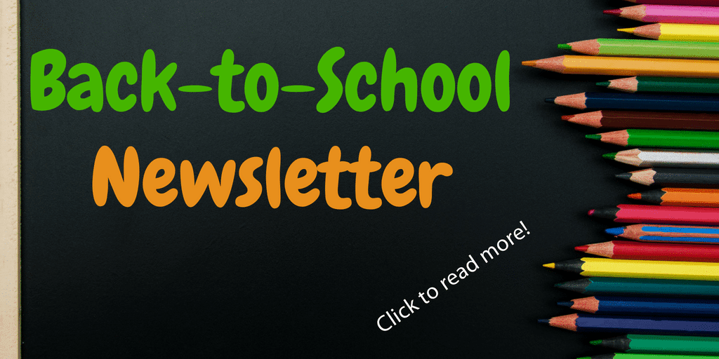 Back-to-School Newsletter | The Written Word Center for Dyslexia and Learning