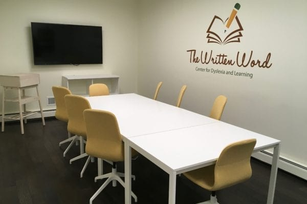 Academic Language Therapist Training Room | The Written Word Center for Dyslexia and Learning