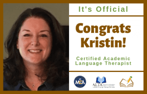 Kristin | CALT | The Written Word Center for Dyslexia and Learning