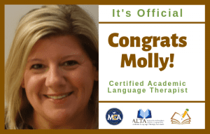 Molly | CALT | The Written Word Center for Dyslexia and Learning