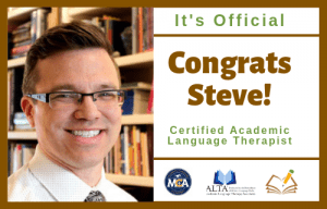 Steve | CALT | The Written Word Center for Dyslexia and Learning