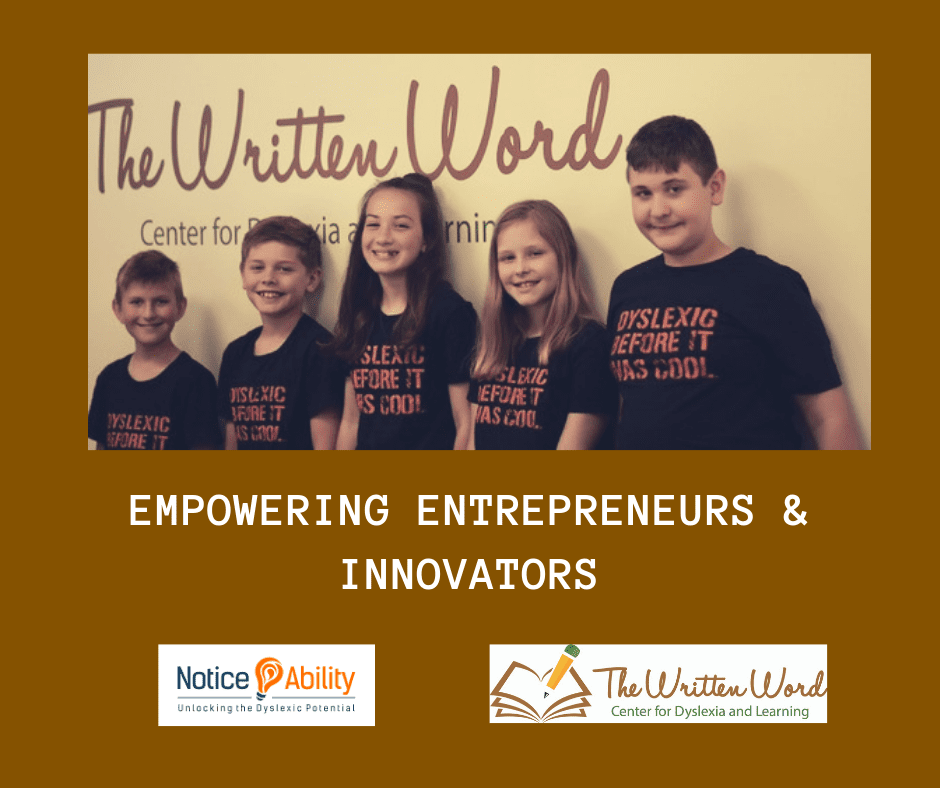 Entrepreneurs & Innovators | NoticeAbility | The Written Word