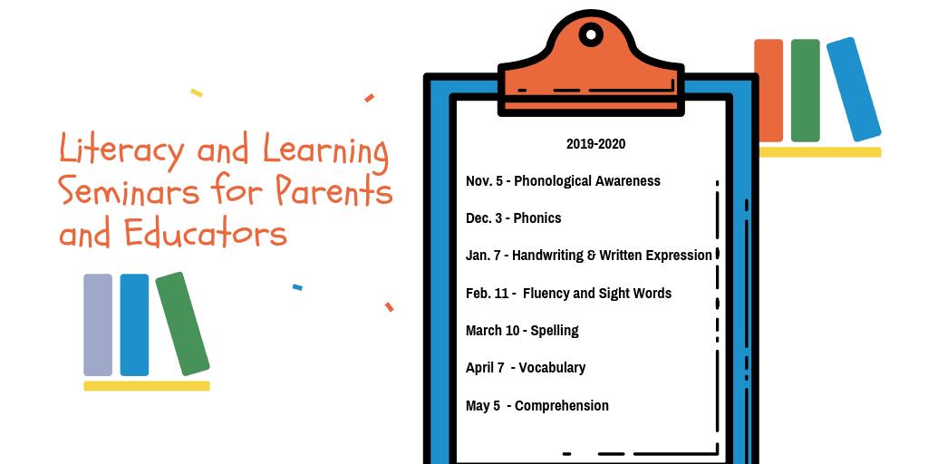 Literacy & Learning Seminars | The Written Word