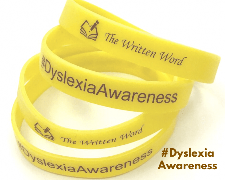 #DyslexiaAwareness | Rubber Bracelets | The Written Word