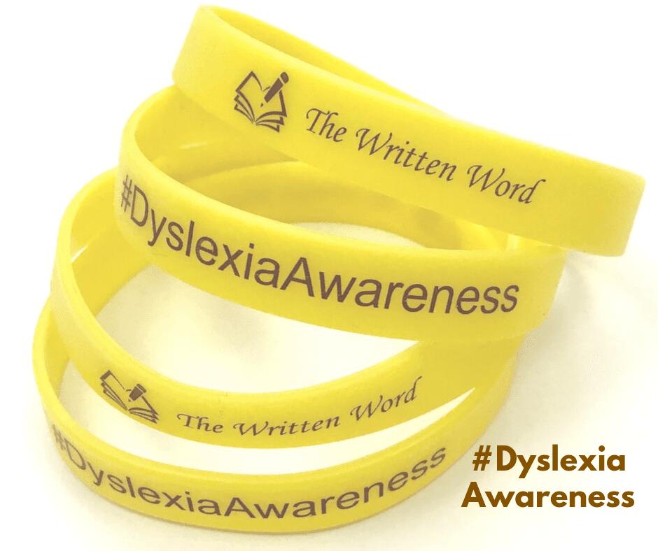 #DyslexiaAwareness | Rubber Bracelets | The Written Word