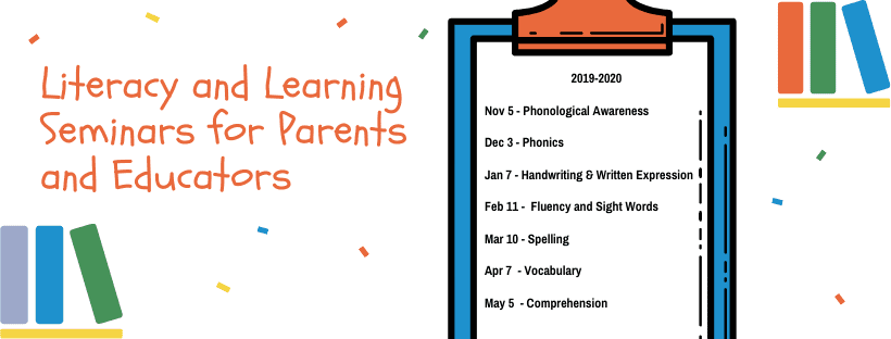 Literacy & LearniSeminars | The Written Word
