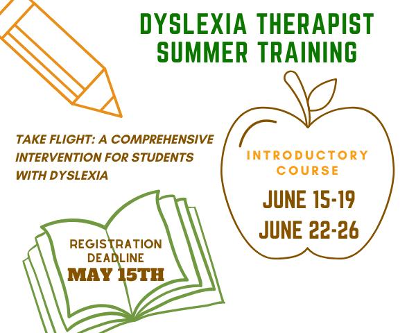Dyslexia Therapist Summer Training | The Written Word