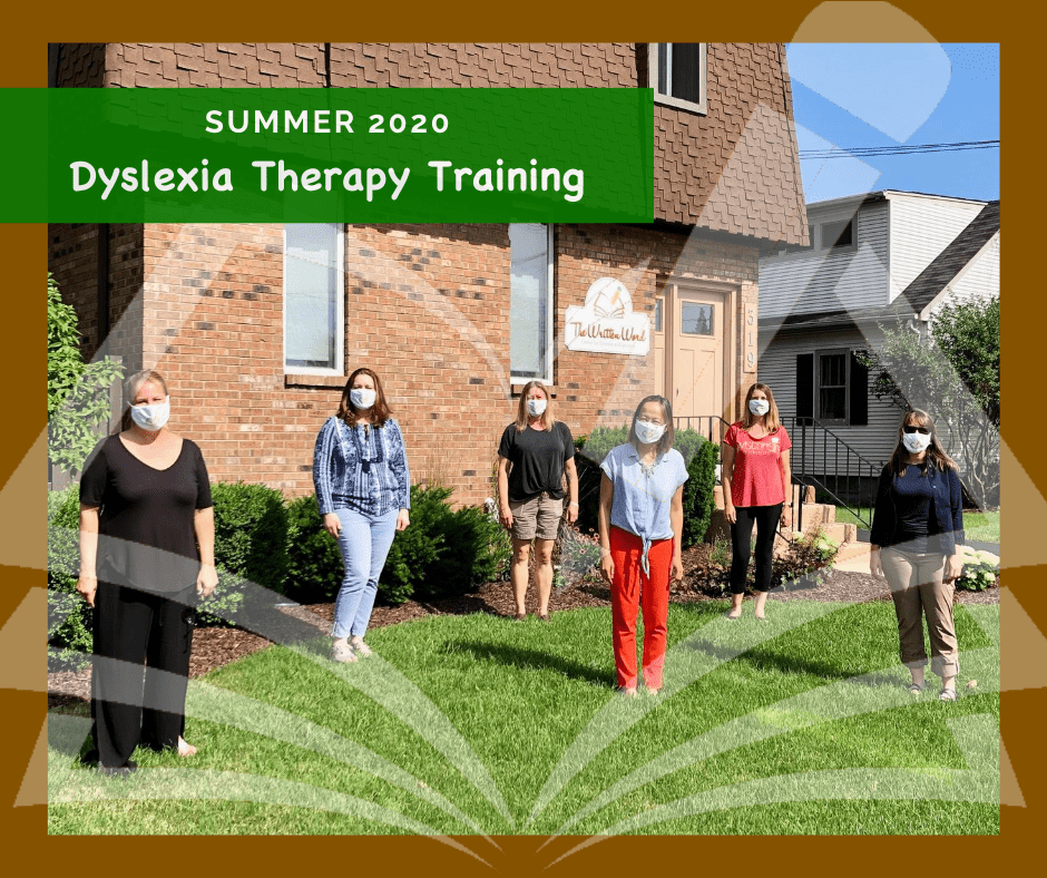 Dyslexia Therapy Training | Summer 2020 | The Written Word