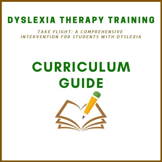 Dyslexia Therapy Training | Take Flight | The Written Word