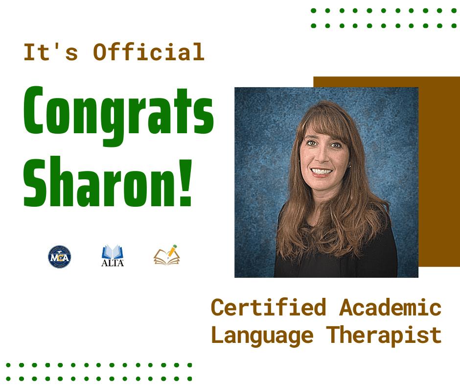 Sharon | CALT | The Written Word