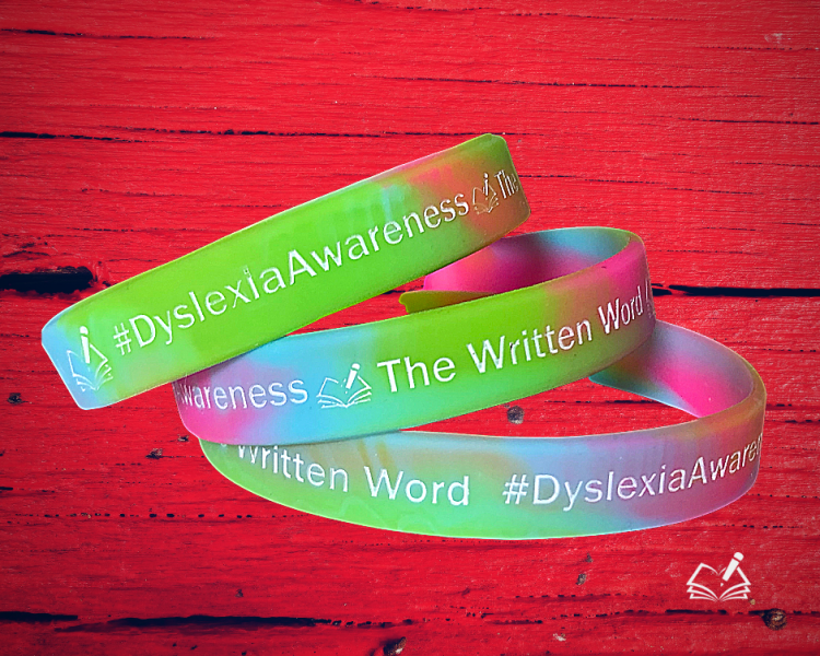 Rubber Bracelets | #DyslexiaAwareness | The Written Word