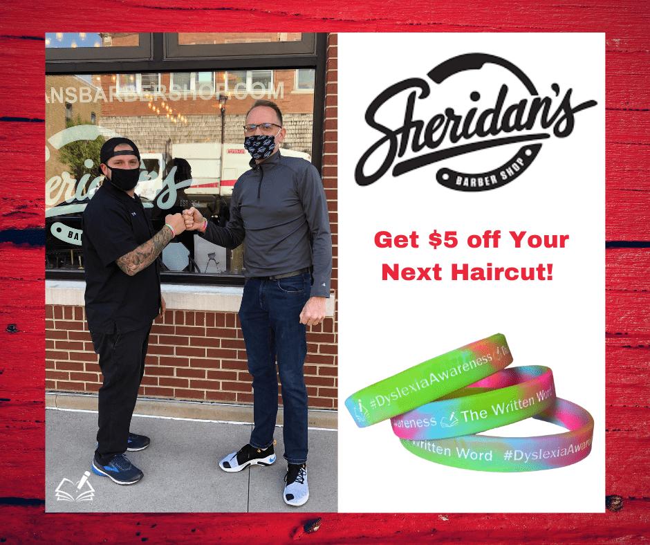 Get $5 Off | Sheridans Barbershop | The Written Word