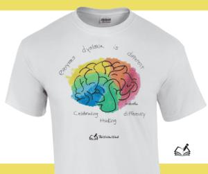 T-Shirt | DyslexiaAwareness | The Written Word